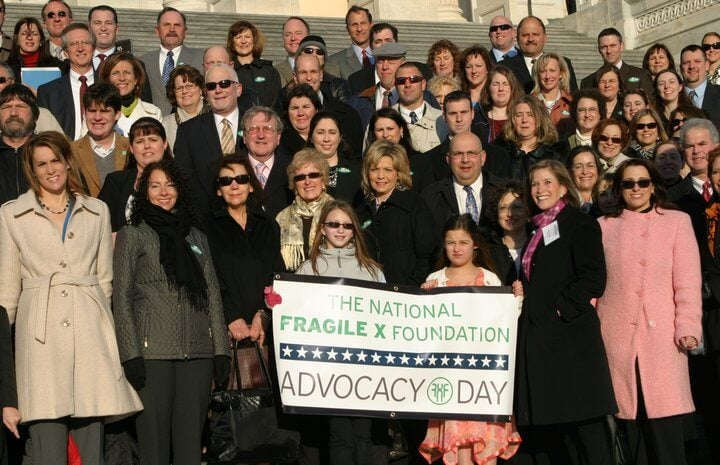 Fragile X Advocacy Day Group 2011