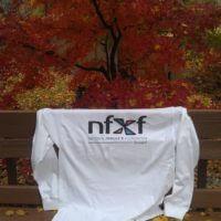 Logo enjoying a beautiful fall day in Michigan
