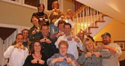 MO LINKS Group making X sign