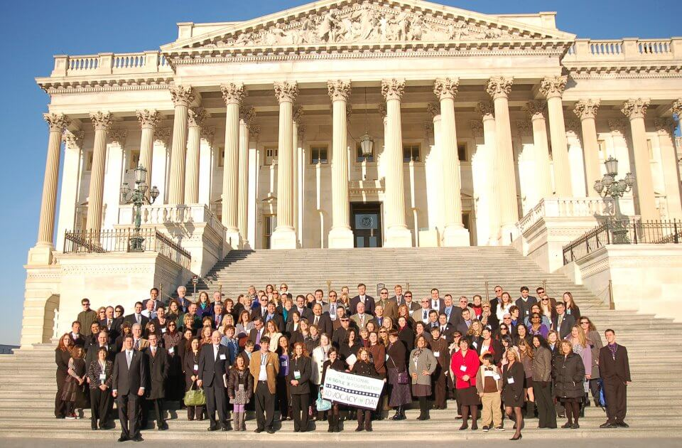 Advocacy Day 2012 Group photo