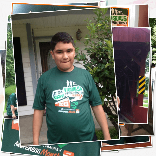 Michael Alcala, 14 from San Antonio, TX