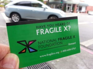Have you heard of Fragile X?