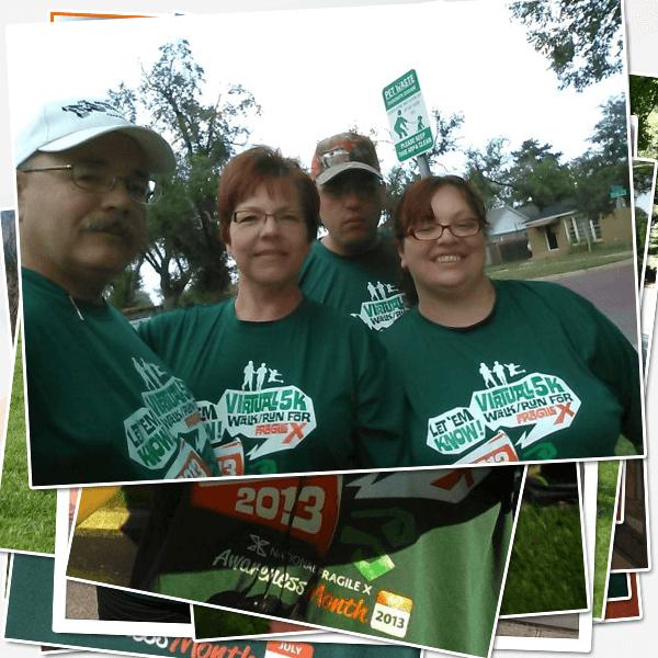 -Steve, Edda, Lisa and Steven Paul for Team Steven in TX