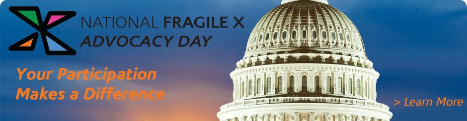 Fragile X Advocacy Day 2017