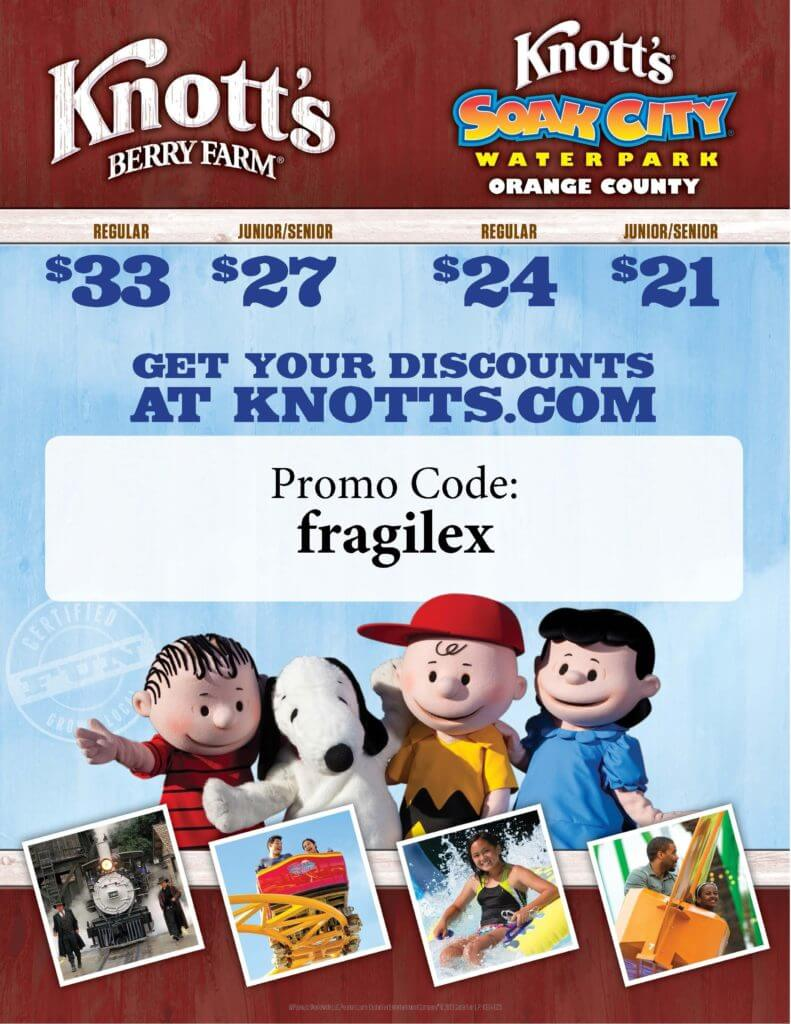 Knotts discount coupons