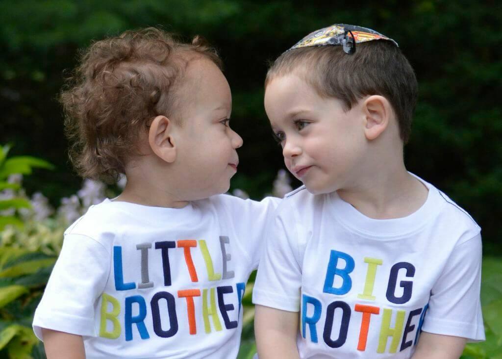 Garber family children - 2 toddler brothers