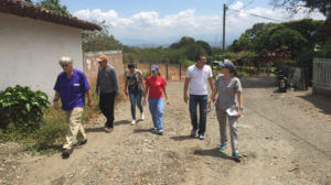 Project team members in Colombia.