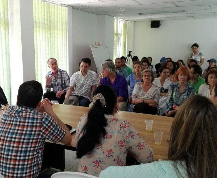 Fragile X Meeting at hospital in Bolivar
