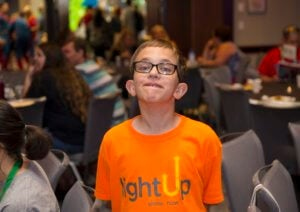 Boy with Fragile X at the 2018 NFXF Conference