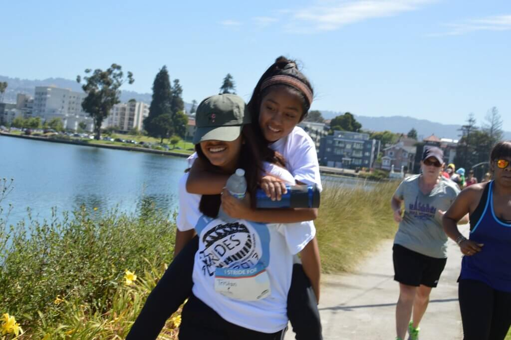 Two X Stride Participants in Oakland, CA