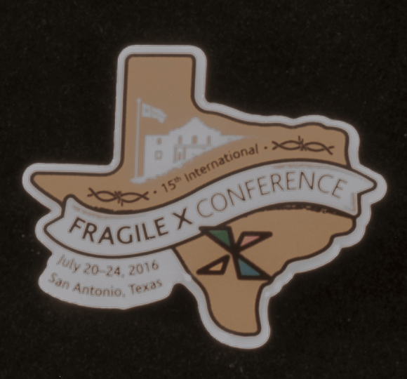 2016 NFXF Fragile X Convention Pin