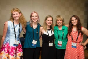 Marcia Braden and girls with Fragile X syndrome