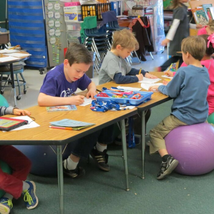 sensory needs in classroom