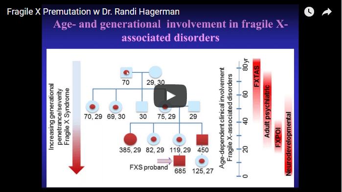 Fragile X Premutation w Dr. Randi Hagerman