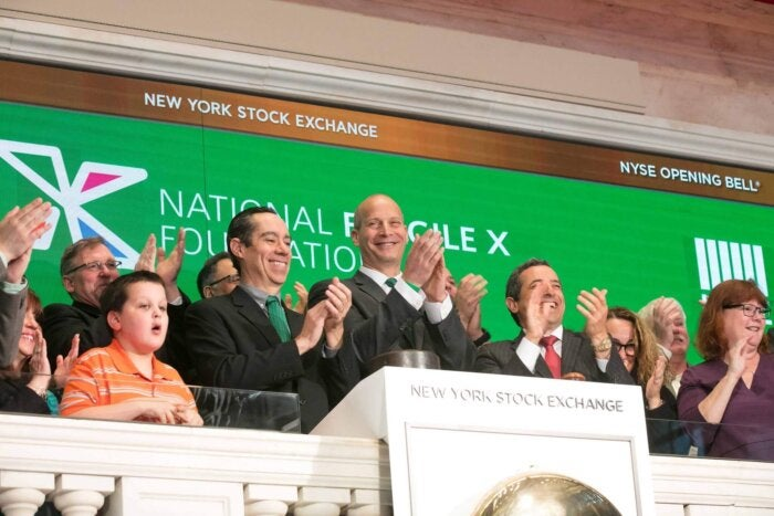 NYSE Opening Bell Ringing