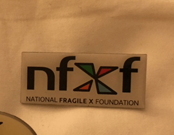 NFXF Logo Pin - Rectangle