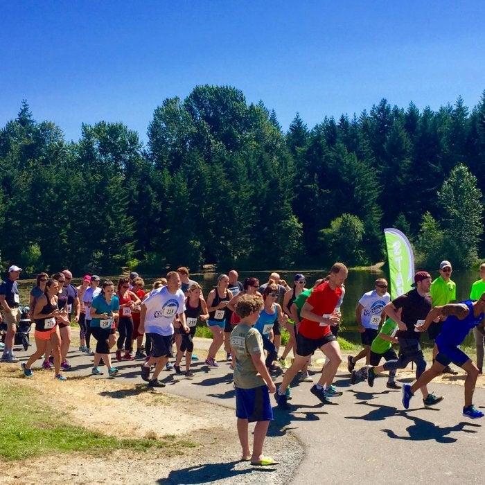 Seattle X Strides 2017 Starting Line