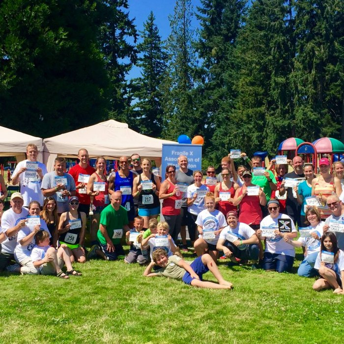 Seattle X Strides 2017 Group Photo