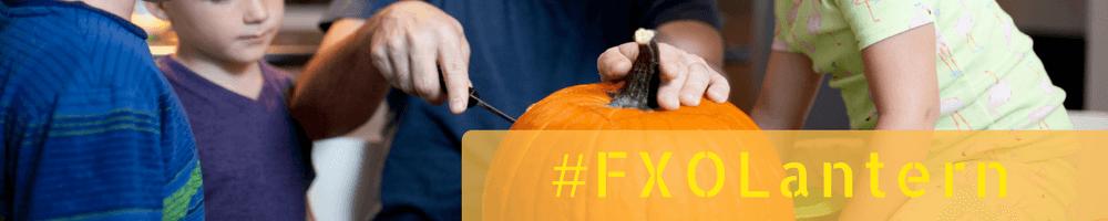 Fragile X pumpkin carving contest header