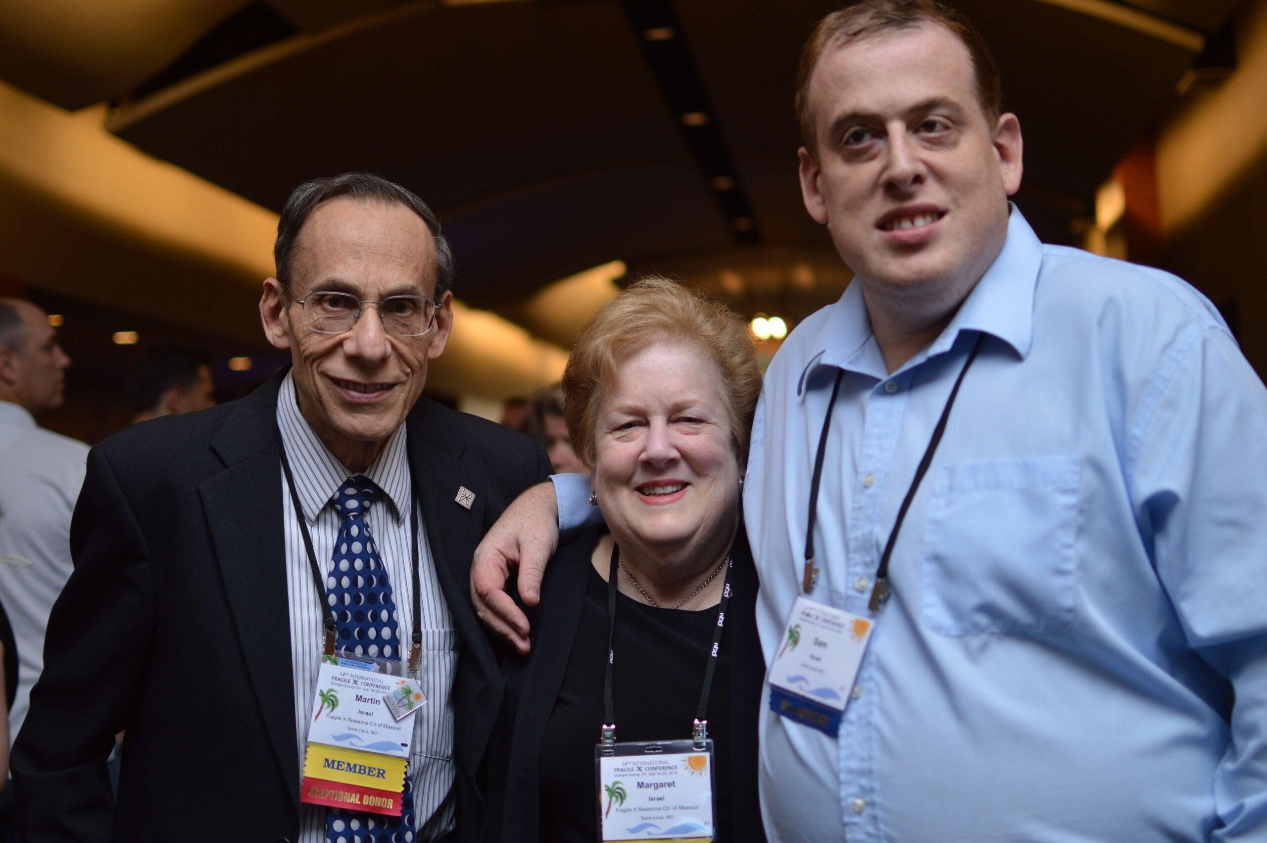 Sam, Marty, and Margaret Israel