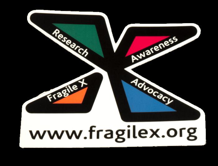 national fragile x foundation car magnet