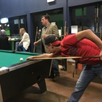 Pool table at Brewfest