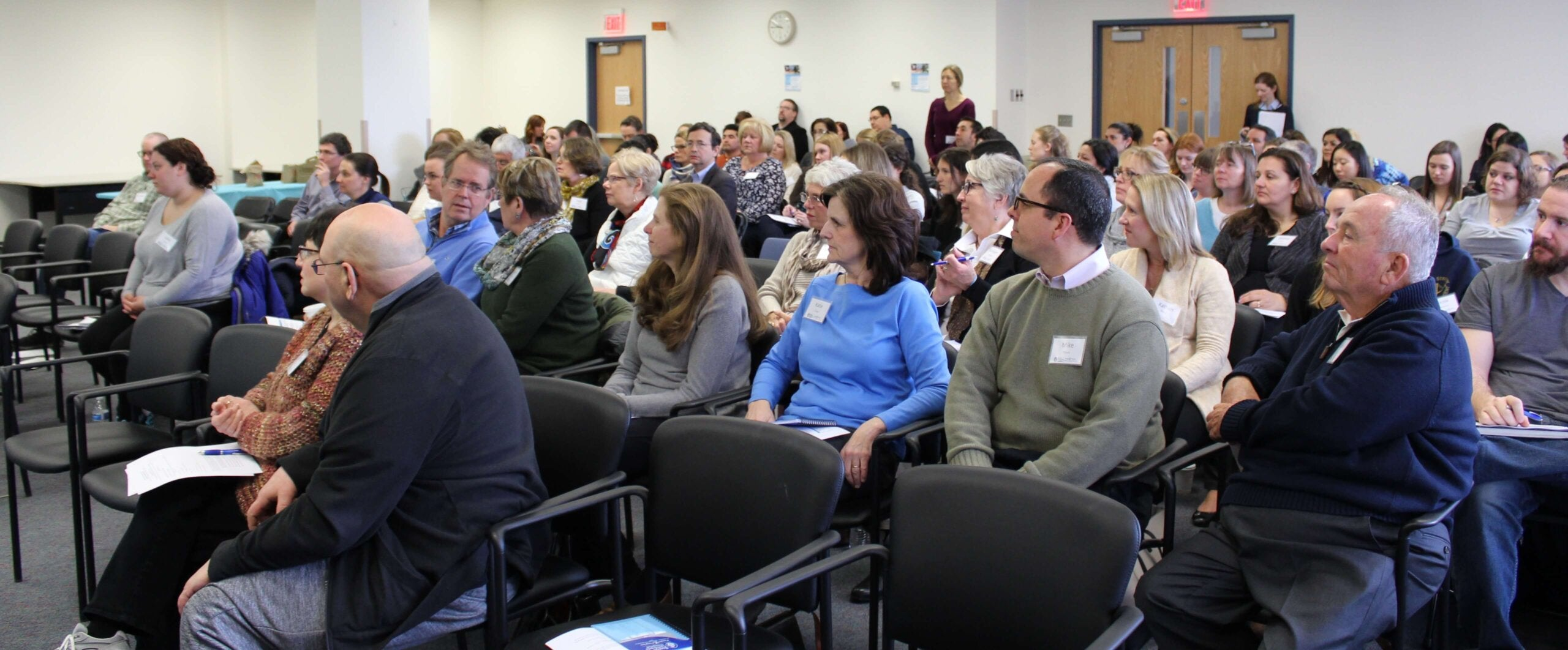 Boston conference audience