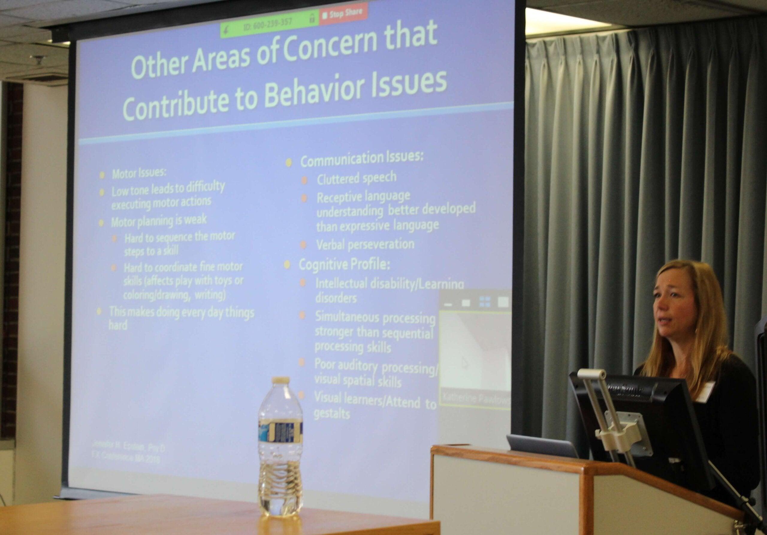 Behavior talk at Boston conference