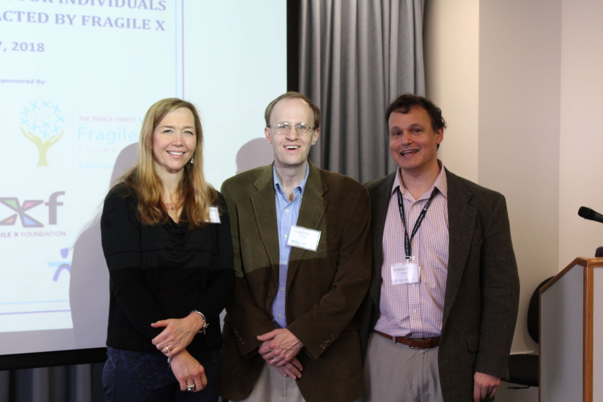 Speakers at the April 2018 Boston Conference