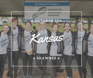 X Strides Kansas Shawnee