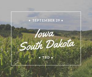 X Strides Iowa South Dakota
