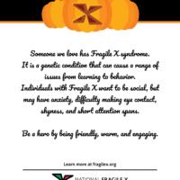 FX-O-Lantern Awareness Poster 1