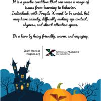 FX-O-Lantern Awareness Poster One