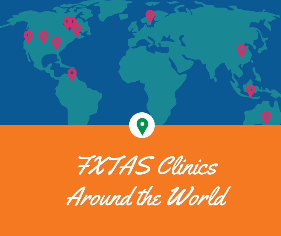FXTAS clinics world wide