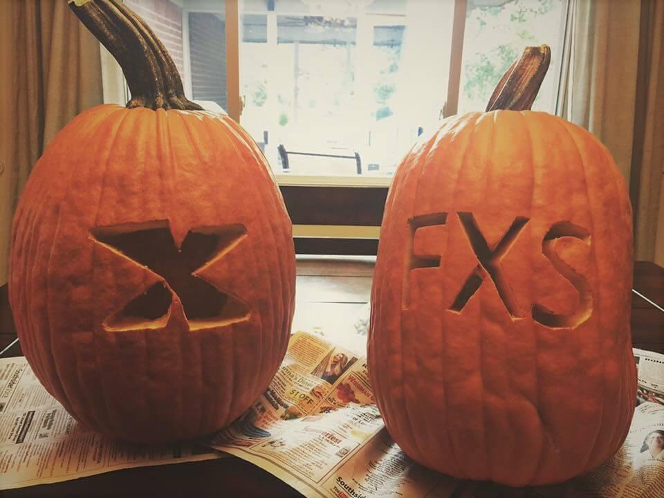 Fragile X jack-o-lanterns
