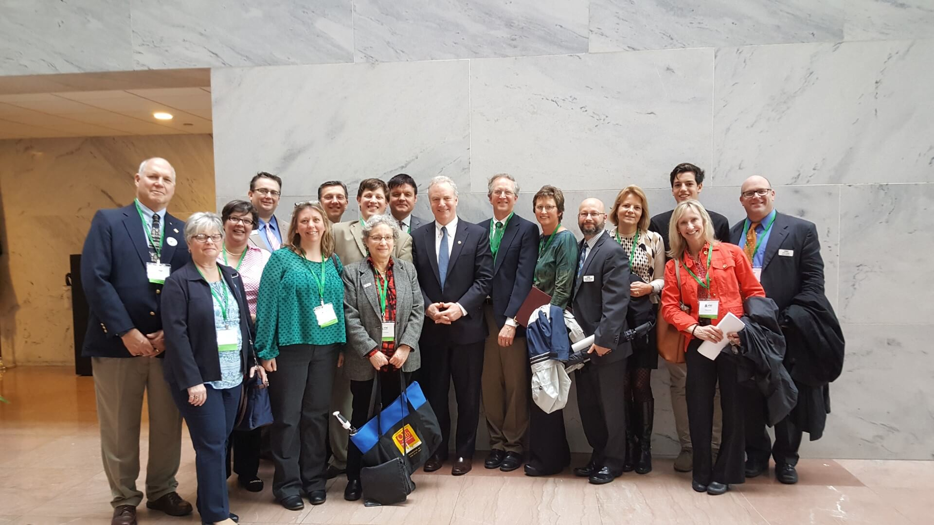 Advocacy Day with Senator Van Hollen