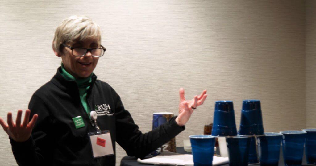 Dr Elizabeth Berry-Kravis at 2019 NFXF Advocacy Day