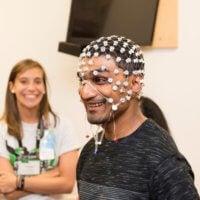 Patient models EEG sensors