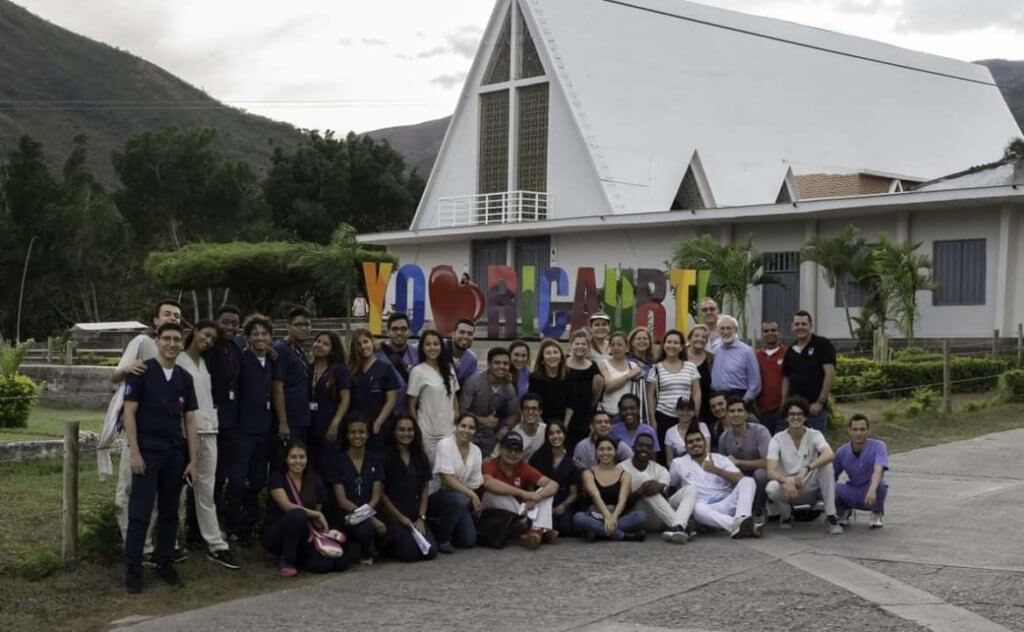 Fragile X professionals and families in Ricuarte, Colombia
