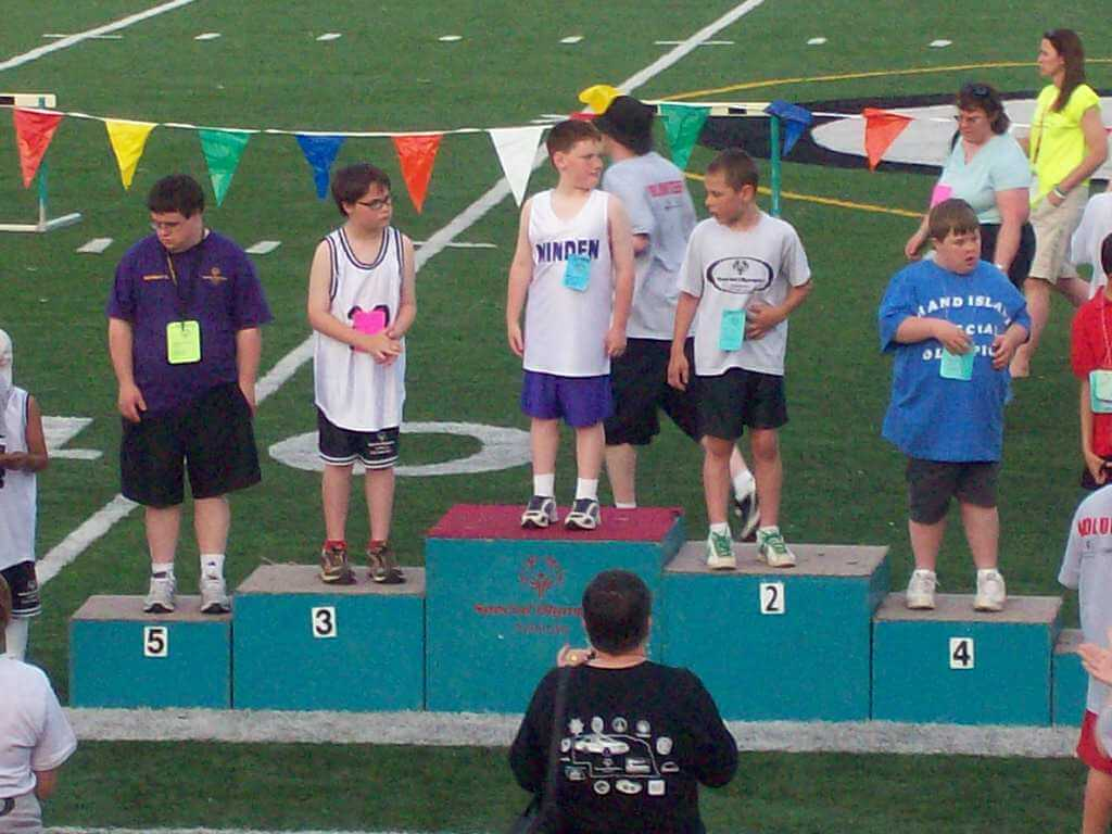 special olympics state track meet