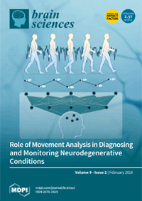 Cover of Brain Sciences journal featuring Voices of Fragile X co-authored by Jayne Dixon Weber