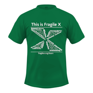 This is Fragile X t-shirt