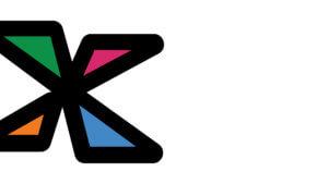 Zoom background NFXF X logo