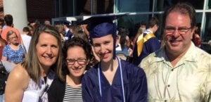 Kupermans at graduation