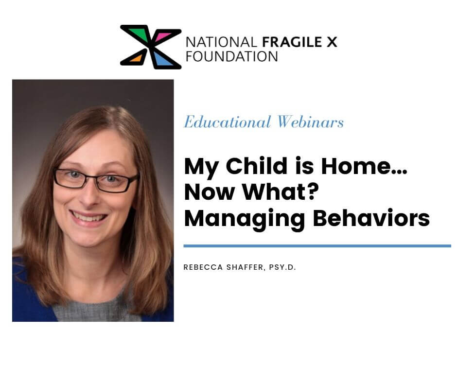 my child is home now what? managing behaviors