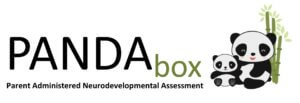 PANDABox, Parent Administered Neurodevelopmental Assessment, logo