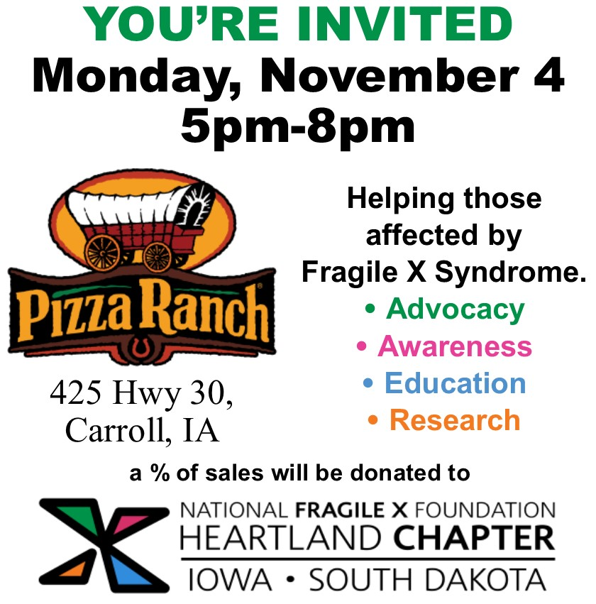 Pizza Ranch fundraiser details