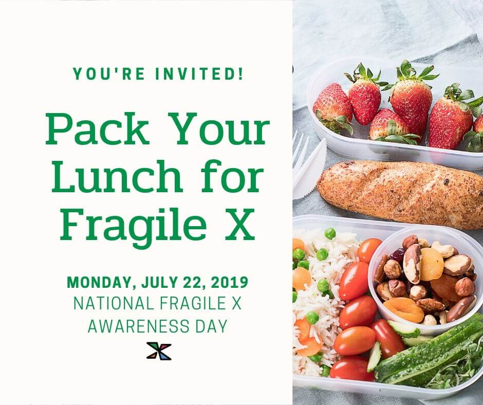 Pack Your Lunch for Fragile X