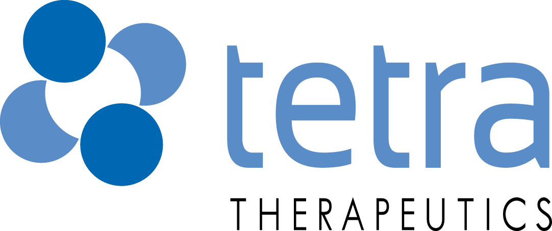 Tetra Therapeutics sponsor logo display