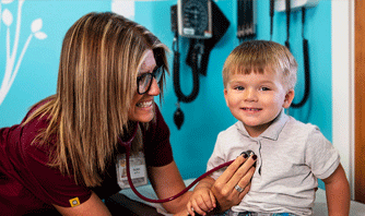 Child and clinician